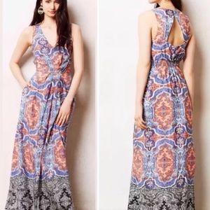 Anthropologie | Maeve silk dress - Like new